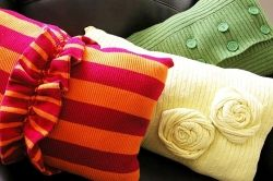 Fall Crafts - DIY Sweater Pillows
