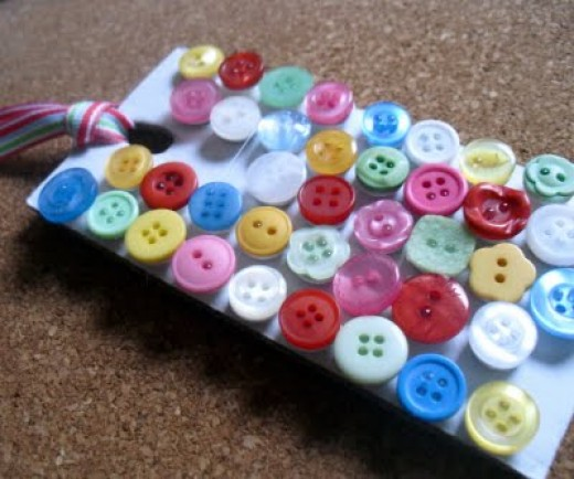 DIY Gifts Button Push Pins
