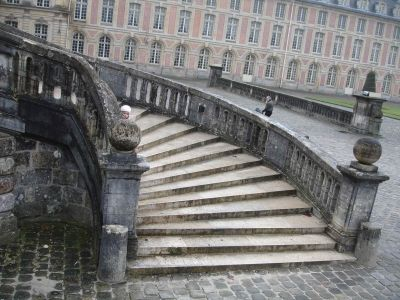 More Chateau Fontainebleau Stairs