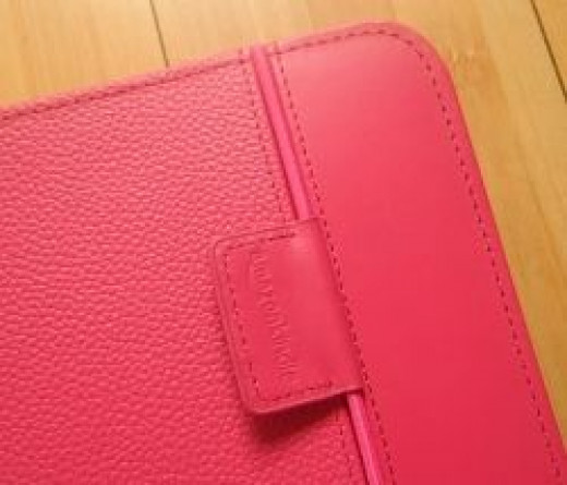Hot Pink Kindle Lighted Cover