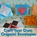 Easy Origami Envelope Crafts