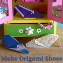 Origami Shoe Crafts
