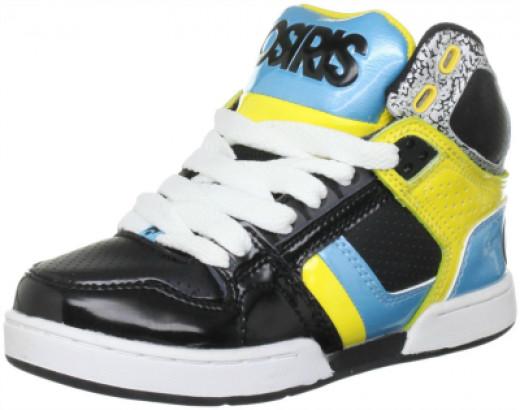 Osiris kids skate shoes