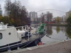 Kinda Canal goes right through Linkoping