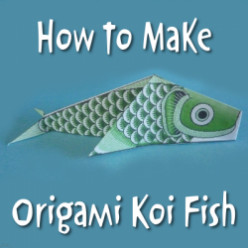 Origami Koi Fish Projects
