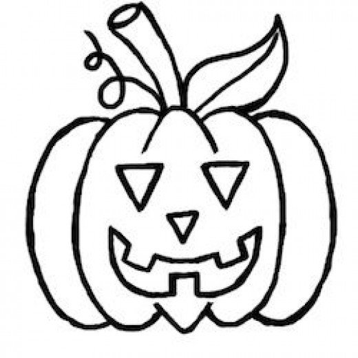 learn how to draw a halloween pumpkin with the help of this tutorial - Draw Halloween Pumpkin