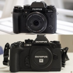 The Olympus OM-D E-M1 vs. Fujifilm X-T1: Which should you choose?