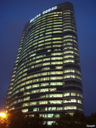 Glass Tower building. Photo courtesy of Marcopolis at www.panoramio.com