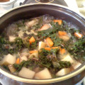 Hearty Kale, Cabbage & Potato Soup Recipe