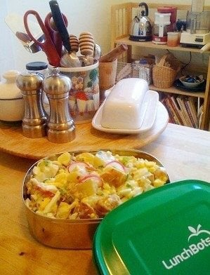 Super quick potato salad for 2 in Lunch Bot - © L Kathryn Grace - All rights reserved