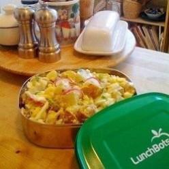 Super quick potato salad for two