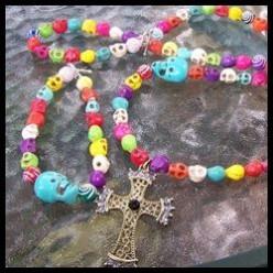 Día de Muertos Necklace and Bracelet set