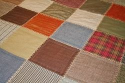 Old quilts make wonderful picnic blankets, especially when they carry memories of happy family outings and gatherings