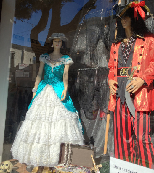 San Francisco is the Halloween party city, and you will find plenty of costume shops in The Haight