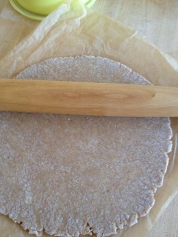 Periodically flip the dough over; dust lightly with more flour if needed to prevent sticking