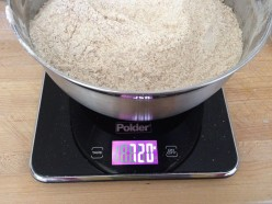 The sleek Polder digital scale mixes style, beauty and functionality