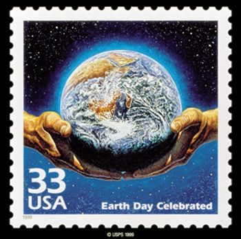 Earth Day Stamp April 22 2012