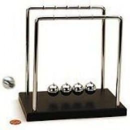 Newton's Cradle, Newton's Balls, Balancing Balls Classic Gag Gift for Father's Day
