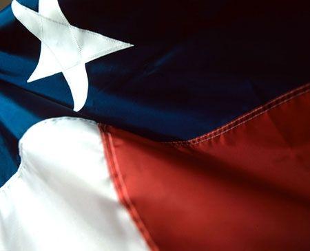 The Flag of Texas still flies high.