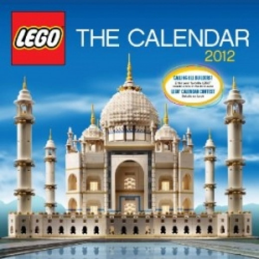 Start the New Year with the LEGO 2012 Calendar