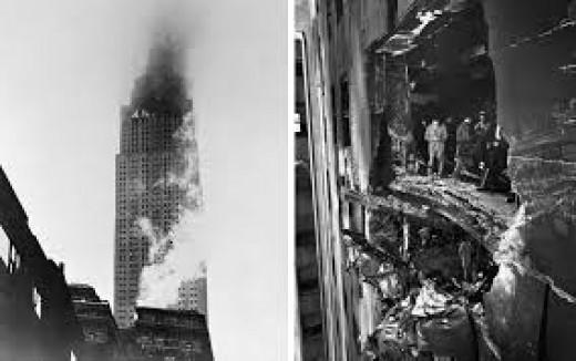1945 Crash Into the Empire State Building