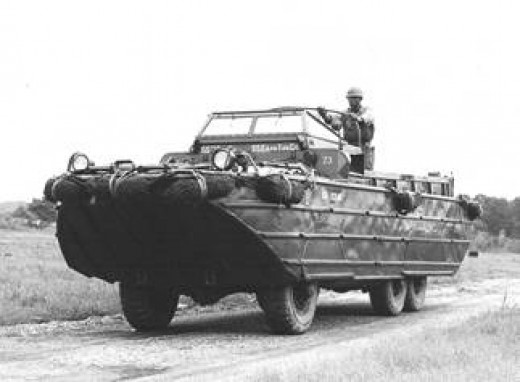 Amphibious Vehicle DUKW