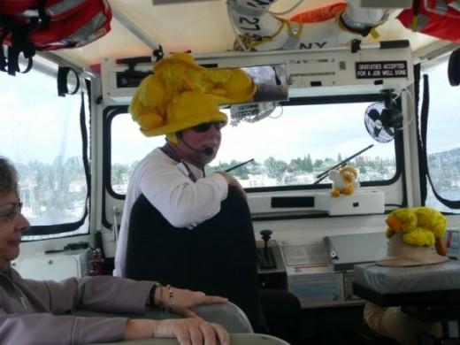 A Seattle Duck Tour Captain
