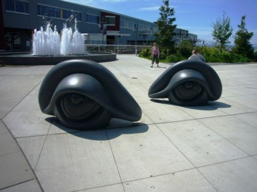 The Olympic Sculpture Park on the Seattle Waterfront