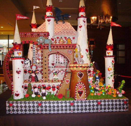 Alice in Wonderland Castle