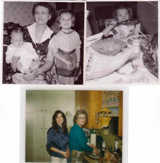Photos from the personal collection of family photos of Vicki Green (aka PNW travels)