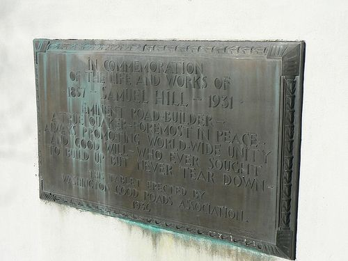 Sanuel Hill Memorial Plaque