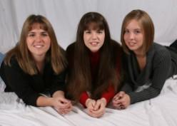 Three Daughters - Three Personalities