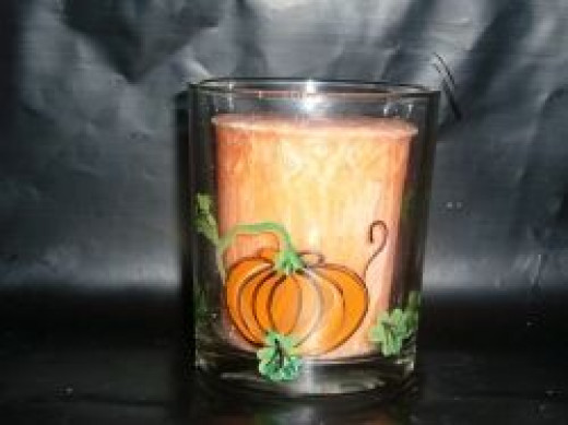 Halloween Votive Candle