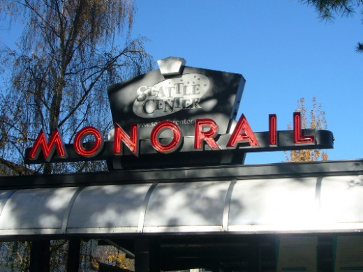 Seattle Center Monorail Entrance