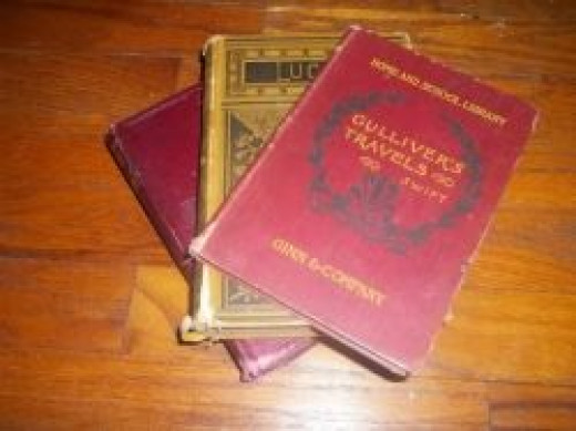 These are antique books from my collection.