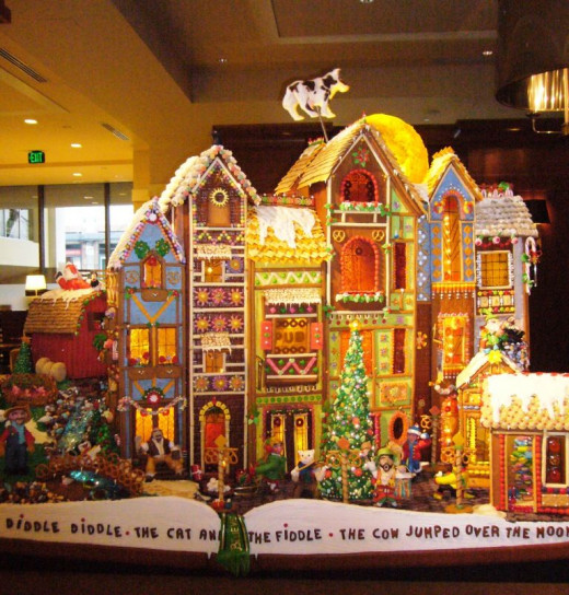 Sheraton Gingerbread Village, Seattle, WA