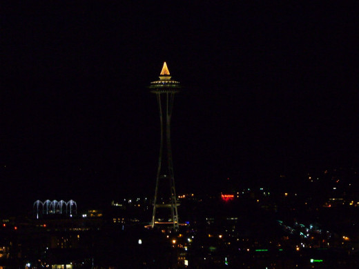 Christmas at the Seattle Space Needle