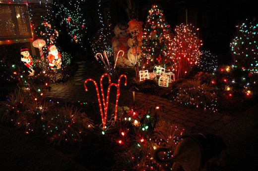 Candy Cane Lane Seattle