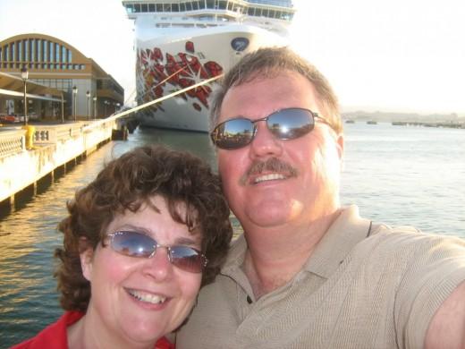 Our San Juan Selfie!