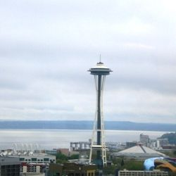 A Cloudy Day in Seattle, Washington