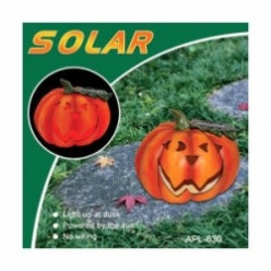 Go Green With Halloween Solar Lights and Decorations