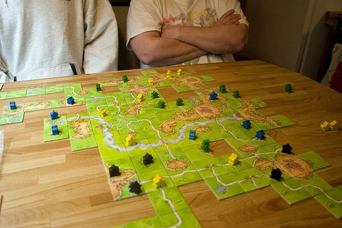 A huge city in this game (near the folded arms). Image by Martin Cathrae, CC BY-SA 2.0, http://www.flickr.com/photos/34067077@N00/149066355/