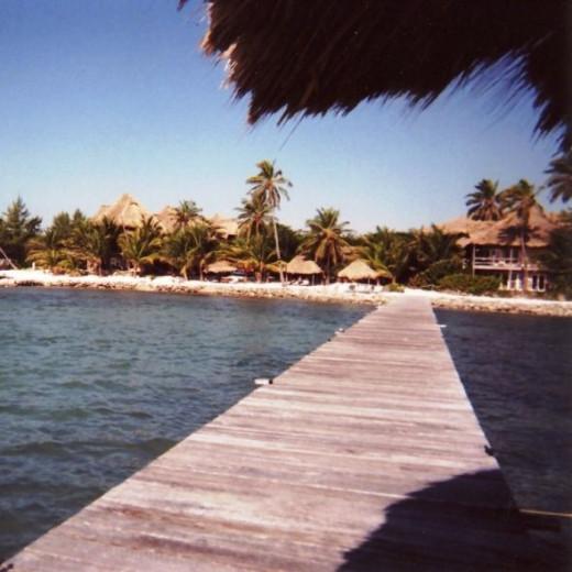 Xanadu Island Resort Pier - San Pedro, Belize