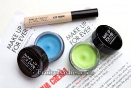The Aqua Cream tones in Pastel Blue and Pastel Green.