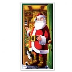 Santa Door Decoration at amazon.com