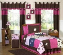 Sheriff Callie's Wild west Bedding and Bedroom decorating ideas for girls