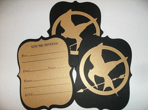 Custom Hunger Games Invitations