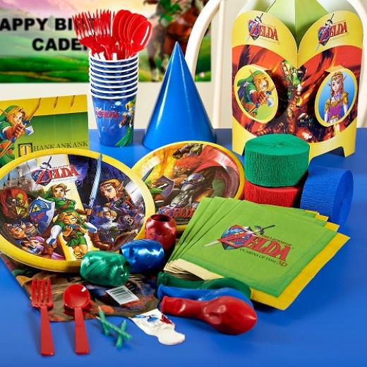Zelda Party Pack