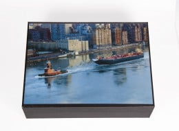 East River Tugboat Keepsake Box
