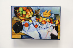 Cezanne's Cats Keepsake Box - Click here for details.